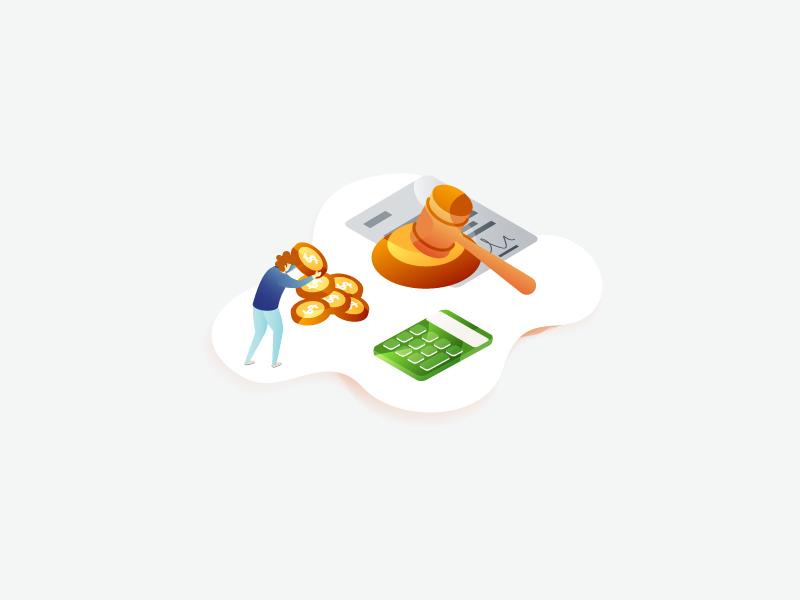 Investor illustration